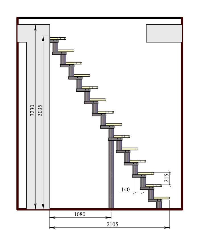 Схема установки модульной